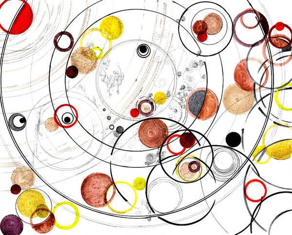 Wall Art - Drawing - Awake In Reciprocal Space by Regina Valluzzi