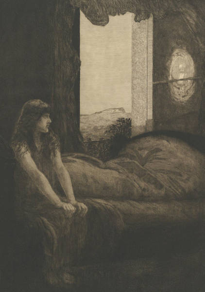 Relief - Awakening by Max Klinger