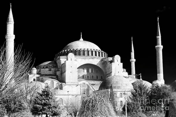 Sancta Sophia Photograph - Aya Sofya Istanbul by John Rizzuto