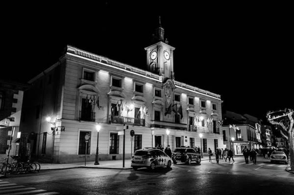 Photograph - Ayuntamiento De Alcala De Henares by Borja Robles