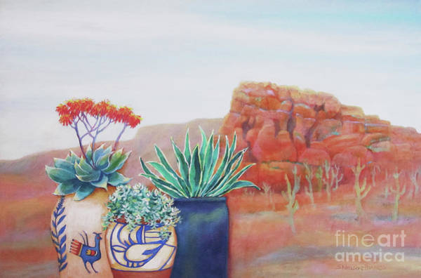 Wall Art - Painting - Arizona Two by Sharon Nelson-Bianco