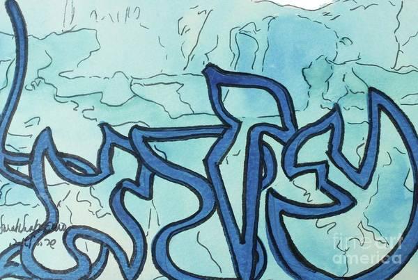 Painting - Azrael  Nm8-5 by Hebrewletters Sl