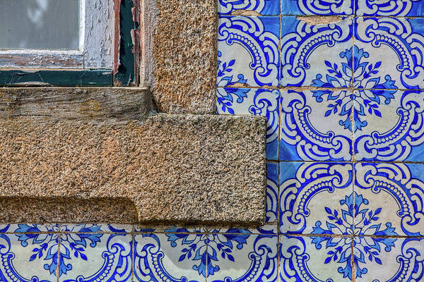 Photograph - Azulejo Tile Of Portugal by David Letts
