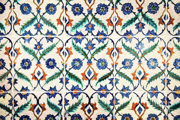 Wall Art - Photograph - Azulejos In Istanbul by Delphimages Photo Creations