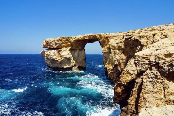 Gozo Wall Art - Photograph - Azure Window , Gozo, Malta by Nico Tondini