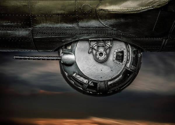 Photograph - B-17 Gun Turret  No 2 by Bob Orsillo