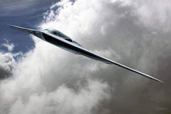 Wall Art - Digital Art - B-2 Spirit In The Sky by Peter Chilelli