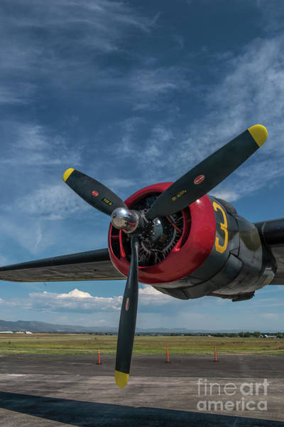 Photograph - B-24 Liberator Prop by Jon Burch Photography