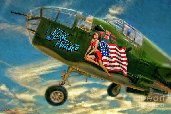 Photograph - B-25 Mitchell Bomber by Blake Richards