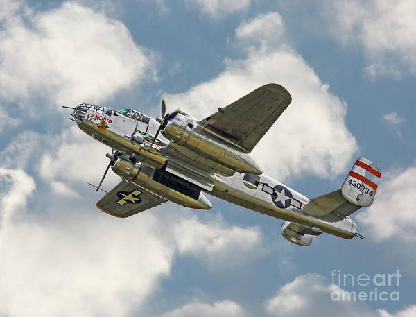 Photograph - B-25 Mitchell Bomber by Kevin McCarthy