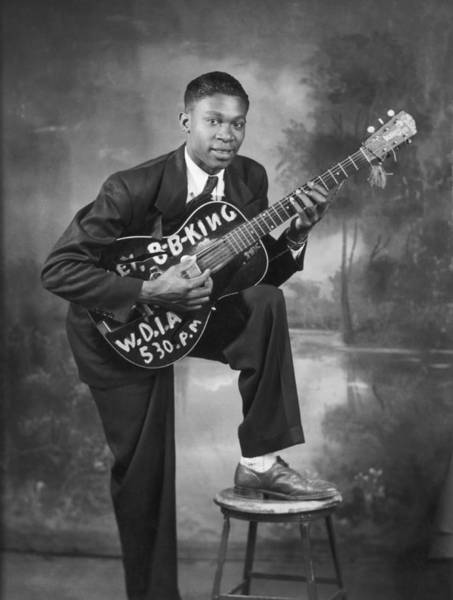 Photograph - B. B. King Early Portrait by Michael Ochs Archives