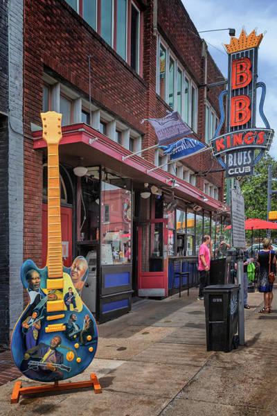 Photograph - B. B. King's Blues Club by Susan Rissi Tregoning