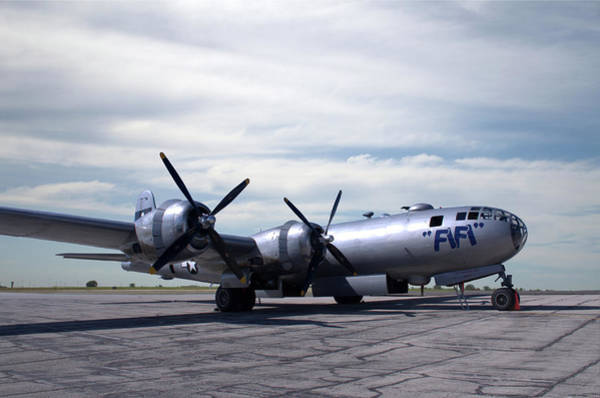 Photograph - B29 Super Fortress Fifi by Tim McCullough