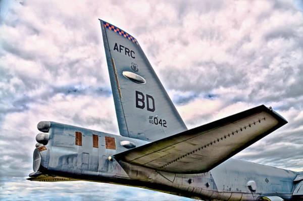 Elmendorf Photograph - B52 Bomber Tail  by Bob Lynn