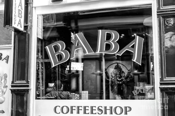 Wall Art - Photograph - Baba Coffeeshop Amsterdam by John Rizzuto