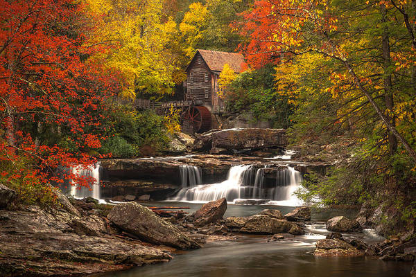 Wall Art - Photograph - Babcock Grist Mill by Ryan Smith
