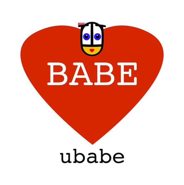 Digital Art - Babe Ubabe by Charles Stuart