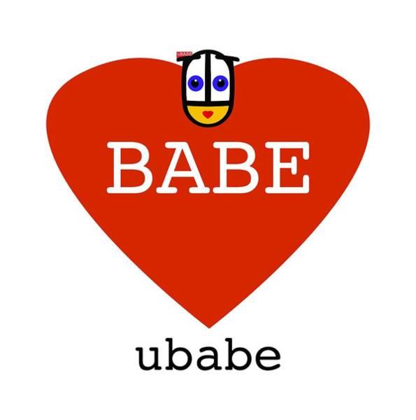 Digital Art - Babe Ubabe by Charles Stuart