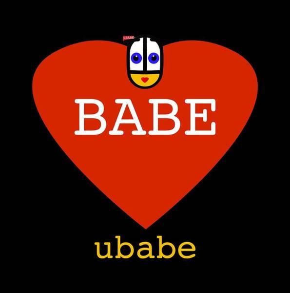 Digital Art - Babe Valentine by Charles Stuart