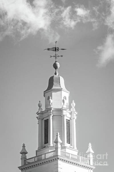 Photograph - Babson College Tomasso Hall Cupola by University Icons