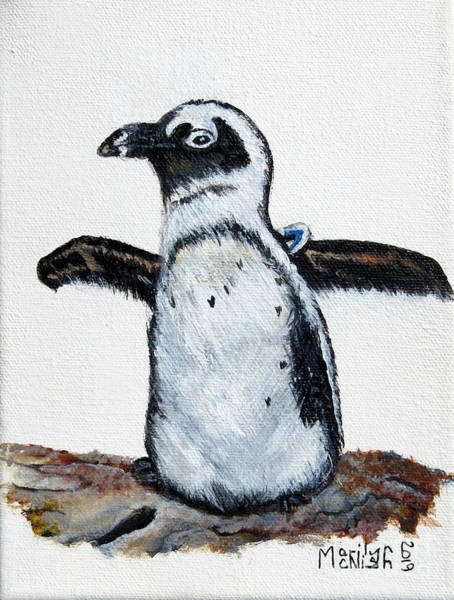 Painting - Baby Penguin by Marilyn McNish