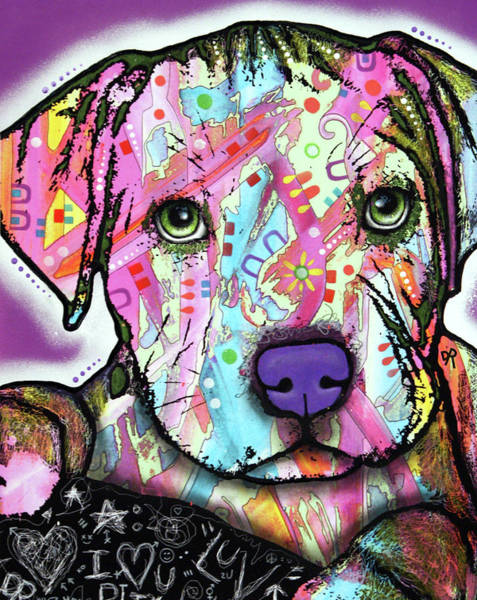 Painting - Baby Pit by Dean Russo Art