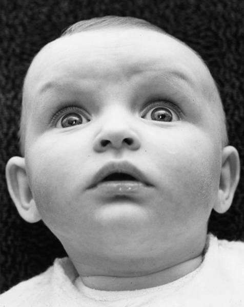 Staring Photograph - Babyface by Stallard