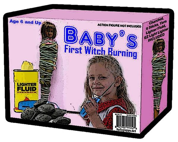 Digital Art - Baby's First Witch Hunt by Walter Chamberlain