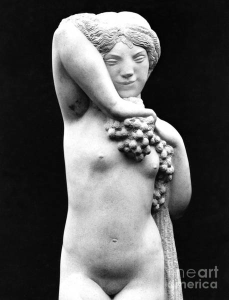 Wall Art - Sculpture - Bacchante Or Faunness  by Joseph Bernard
