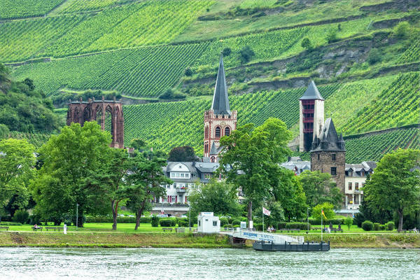 Photograph - Bacharach, Germany, On The Rhine by Kay Brewer