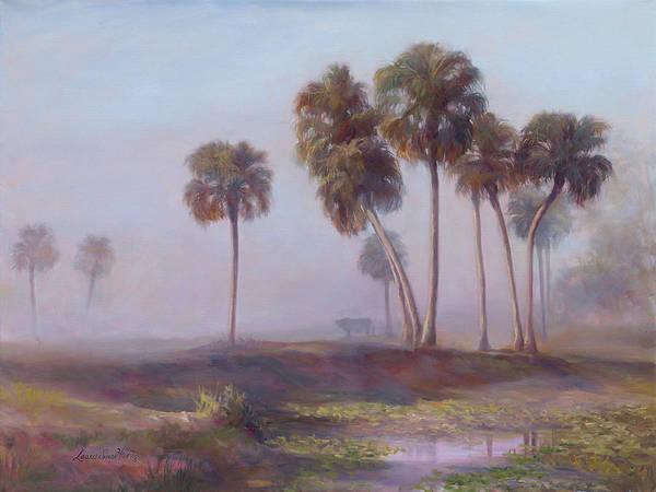 Lake Okeechobee Wall Art - Painting - Bachelor In Paradise by Laurie Snow Hein