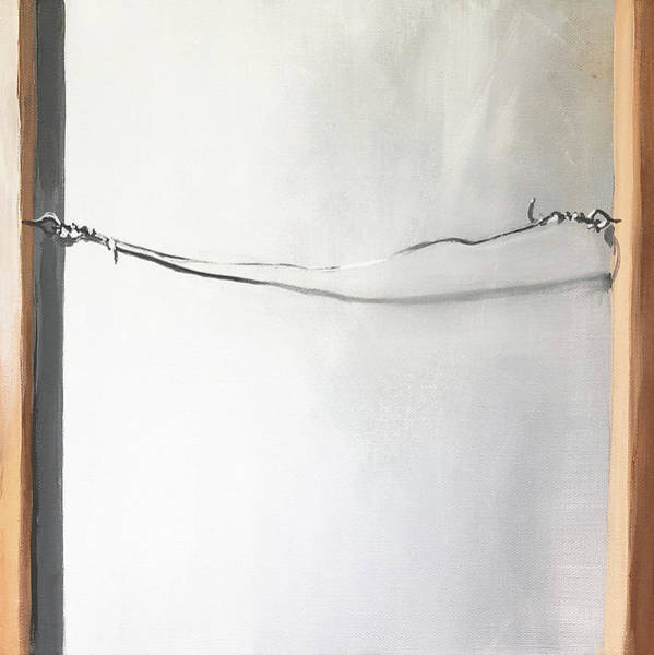 Wall Art - Painting - Back 12x12 by Jeffrey Bess