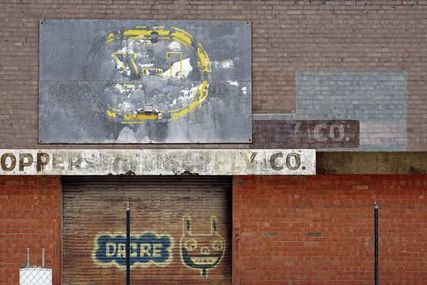 Wall Art - Mixed Media - Back Alley Loading Dock by Joseph Oland