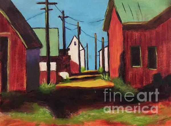 Painting - Back Allie Bodie by Linda Anderson