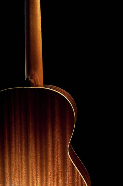 Cross Country Photograph - Back Of A Spanish Guitar by Cirano83