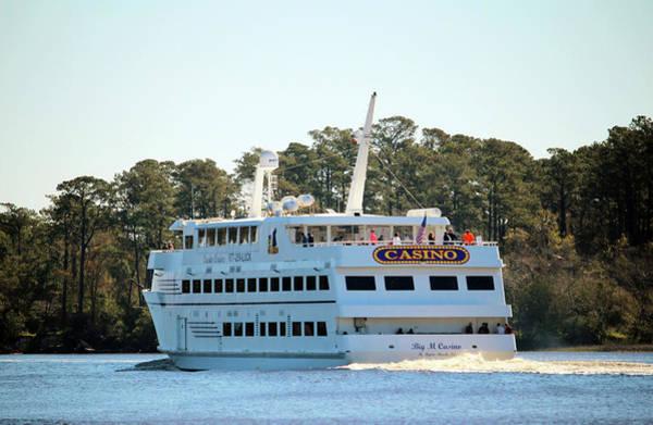 Photograph - Back Of Gambling Ship by Cynthia Guinn