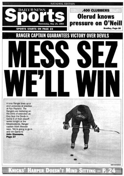 Reading Photograph - Back Page Sports Of The Daily News From by New York Daily News Archive
