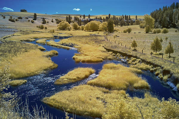 Wall Art - Photograph - Back River In The Palouse by Jon Glaser