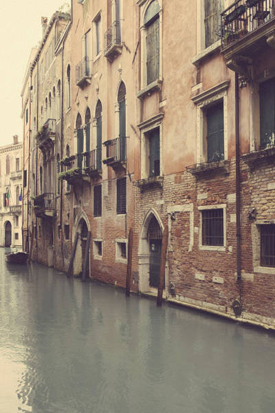 Photograph - Back Street Canal In Venice by Georgia Fowler
