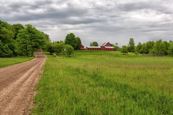 Photograph - Backroad Farm 1 by Heather Kenward