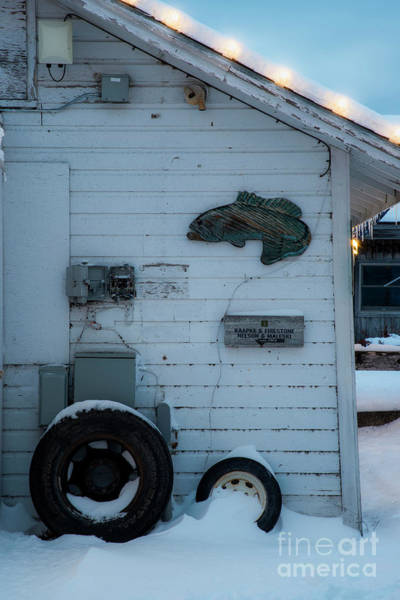 Wall Art - Photograph - Backside Of Shanty In Fishtown by Twenty Two North Photography