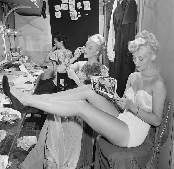 Wall Art - Photograph - Backstage At La Scala by Slim Aarons