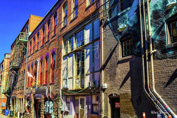 Asheville Wall Art - Photograph - Backstreet Asheville by Walt Baker