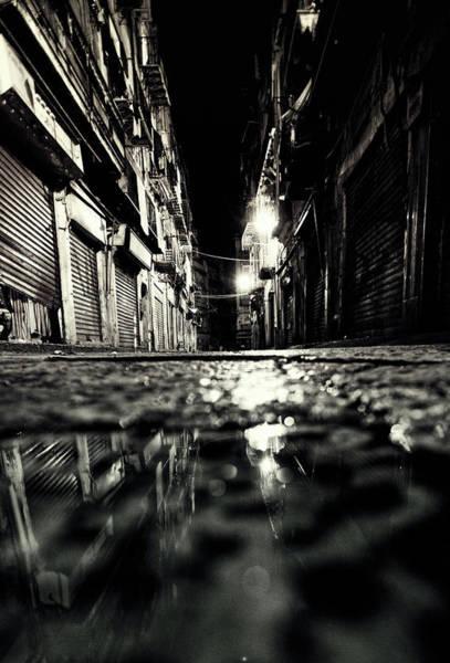 Sicily Photograph - Backstreet Reflection by Peeterv