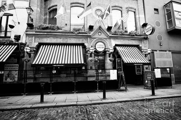 Wall Art - Photograph - Bad Bobs Temple Bar Dublin Republic Of Ireland Europe by Joe Fox