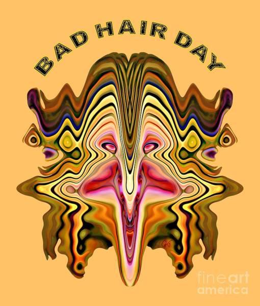 Bad Hair Day Digital Art - Bad Hair Day by Gabriele Pomykaj