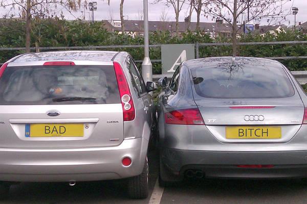 Photograph - Bad Parking Bitch by Doc Braham
