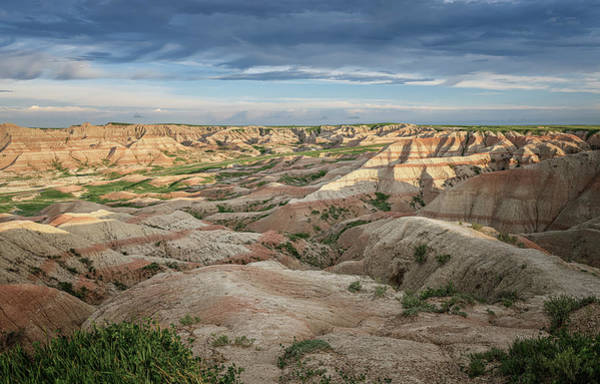 Wall Art - Photograph - Badlands National Park Early Morning by Joan Carroll