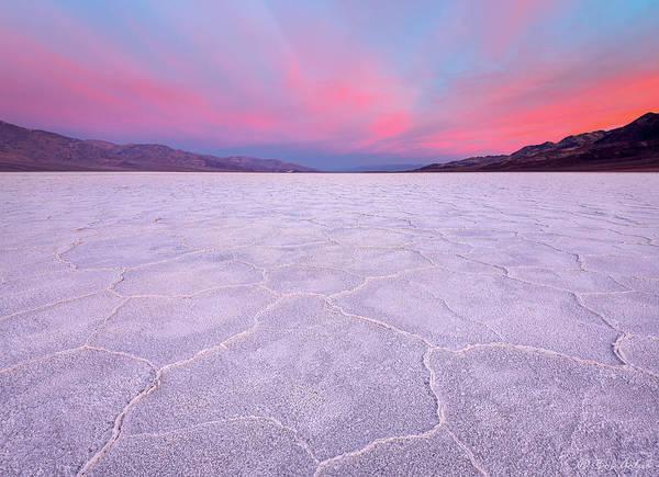 Death Valley Photograph - Badwater Basin Sunrise by Robert Golub
