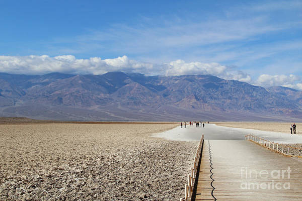 Late Wall Art - Photograph - Badwater In Death Valley National Park by Marimarkina